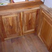 Spalted Beech cupboards Plane floorboards