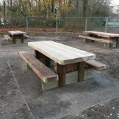 Worthington Park Picnic Benches